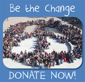 Be the change: Donate Now