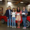 YouthSpeak Finalists at Crevier Classic Cars