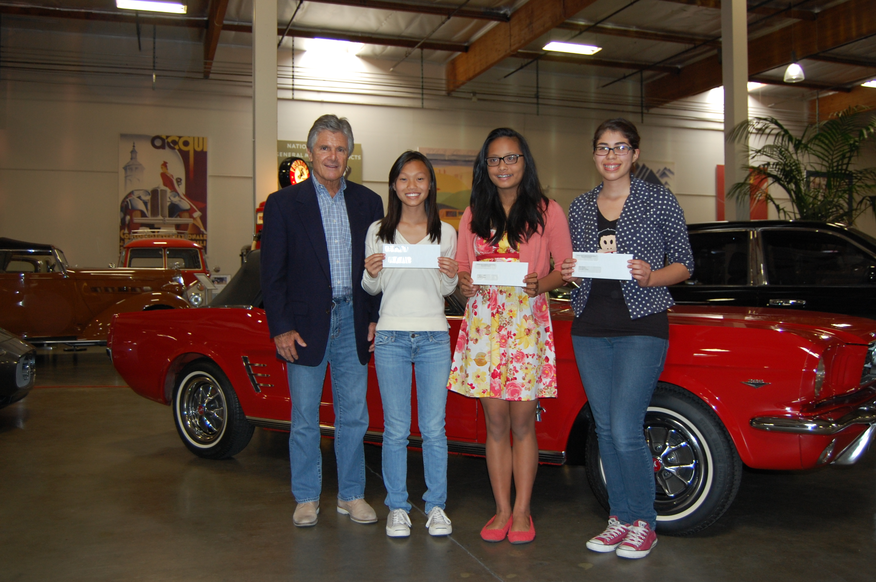 YouthSpeak Finalists at Crevier Classic Cars | OC Human Relations