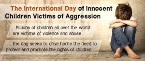 International Day for Innocent Children Victims of Aggression