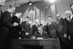 Civil Rights Act Signed (1968)