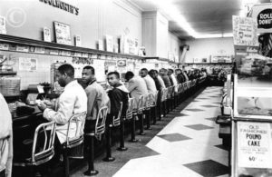 Greensboro Woolworths Counter Sit-In (1960)