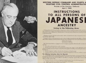 Japanese-Americans Interned (1942)