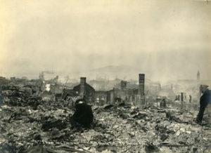 Santa Ana's Chinatown Set Ablaze (1906)
