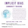 Implicit Bias Training Offered April 2