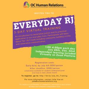 Everyday RJ Training @ Online