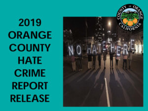 2019 OC Hate Crime Report Release @ Online