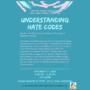 Understanding Hate Codes Virtual Event