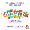 40-hour Basic Mediation Training Starts January 21