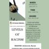Levels of Racism Webinar, Jan 13