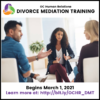 4 Divorce Mediation Training Sessions in March