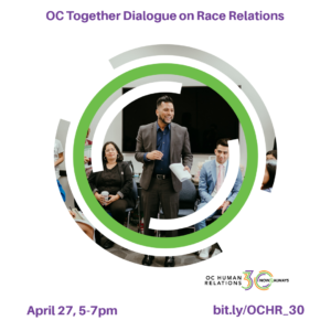 OC Together Dialogue on Race Relations @ Online