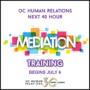 40-hour Basic Mediation Training Starts July 6