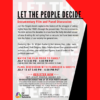 Let The People Decide Film and Panel Discussion
