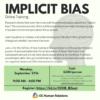 Implicit Bias Training September 27